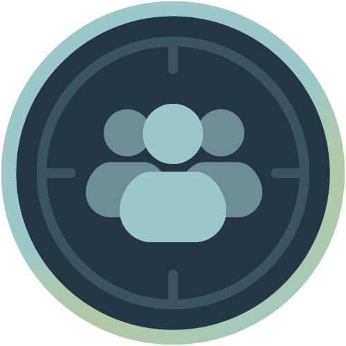 Icon für Zielgruppen