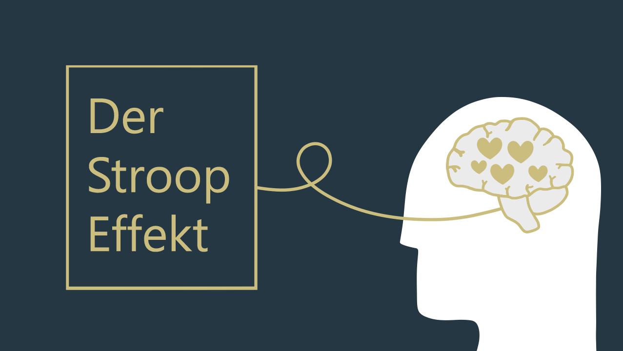 Grafik zum Thema Stroop-Effekt